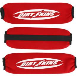 SCHAMPA & DIRT SKINS SHOCK COVERS, RED