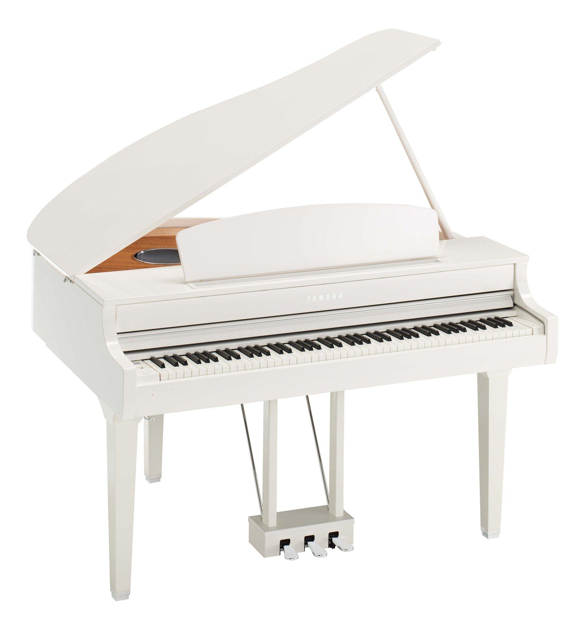 Yamaha Clavinova CLP-695GP Kiiltävä Valkoinen Digital Piano