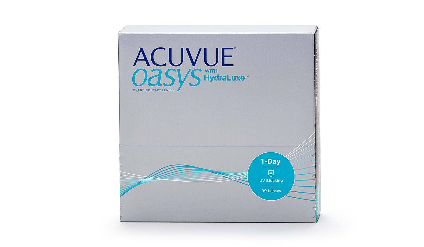 Image of Johnson & Johnson Acuvue Oasys 1-Day with Hydraluxe Piilolinssit