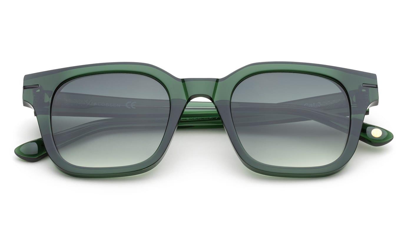 C.Jacobsen Atrium - Dark Green Crystal Gradient Aurinkolasit