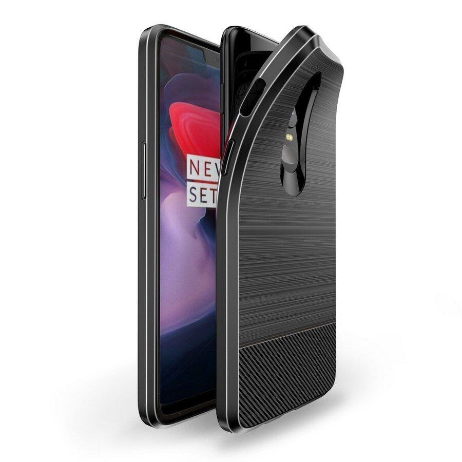 Puhelimenkuoret.fi OnePlus 6 Suojakuori Dux Ducis Mojo Musta