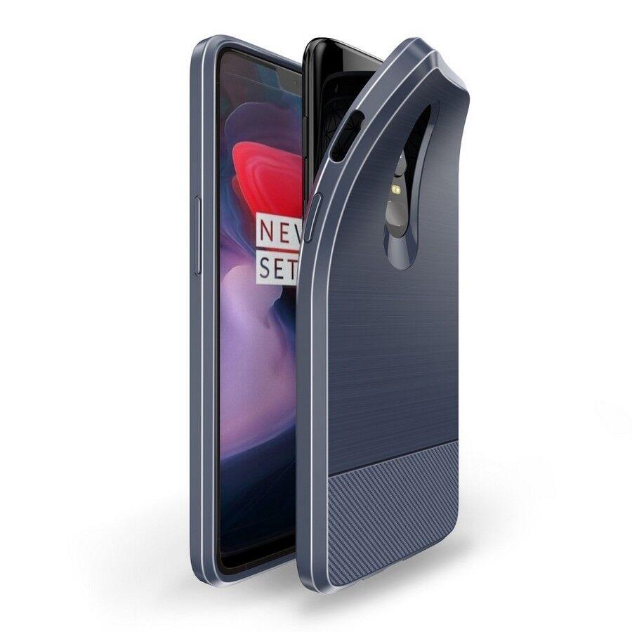 Puhelimenkuoret.fi OnePlus 6 Suojakuori Dux Ducis Mojo Sininen