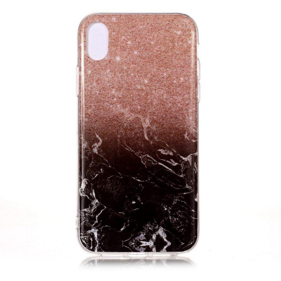 Puhelimenkuoret.fi Apple iPhone Xs Max Suojakuori Marmori Kuvio 1