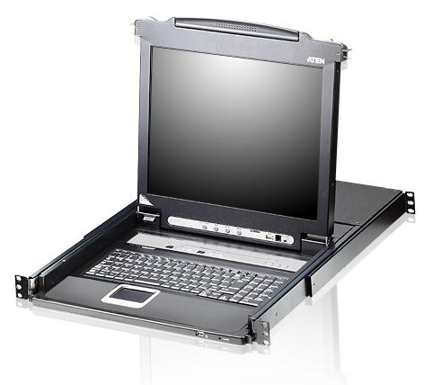 "Aten 16 Port 17"" LCD KVMP Switch"
