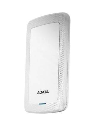 A-Data ADATA 2TB External Hard Drive, 10,3mm, USB 3.1, Quick Start, White