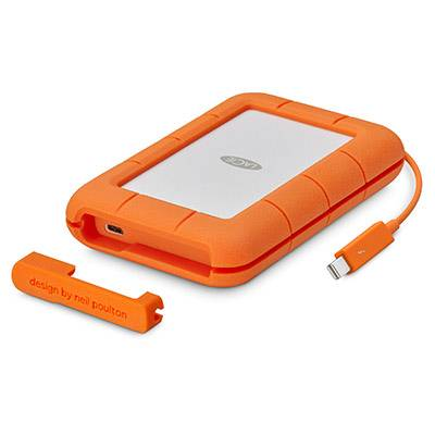 LaCie Rugg Thunderbolt USB-C 5TB For Mac