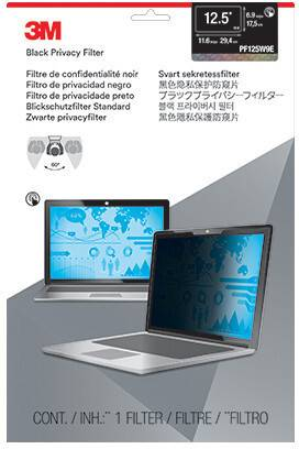 3M PF125W9E 12.5in Touch Laptop Privacy
