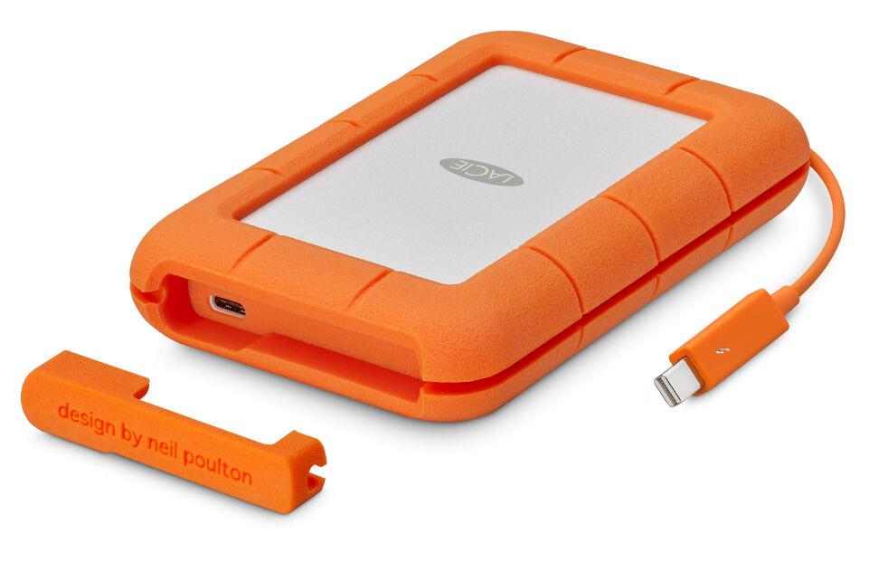 LaCie Rugg Thunderbolt USB-C 2TB For Mac