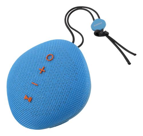 STREETZ Vedenkestävä Bluetooth-kaiutin, IPX5, TWS,BT 4.2, 1x6W, Sin.