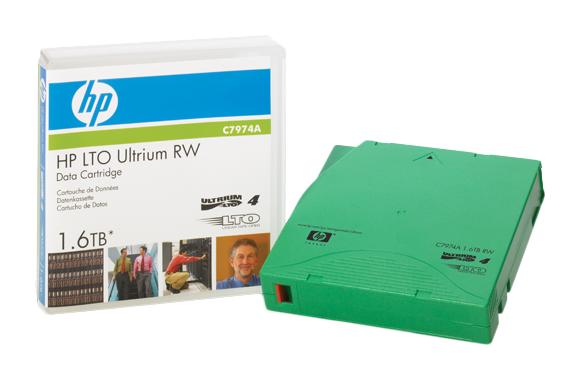 HP LTO4 800GB/1.6TB Tape