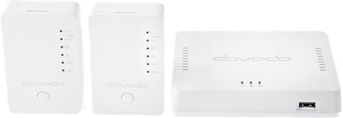 Dovado WiFi XL Mesh Kit, 3 Units, Gigabit, White