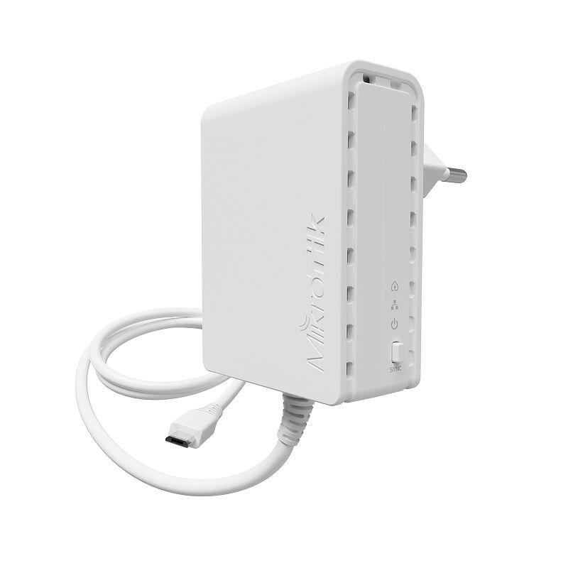 Mikrotik PL7400 PWR-Line 7400 European Plug (Type C)