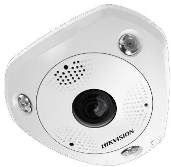 Hikvision 12MP IR Network Fisheye Camera