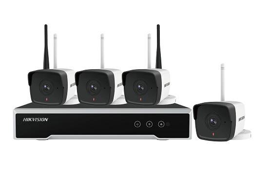 HIKVISION 4 CHANNEL 2MP BULLET WI-FI KIT 1TB