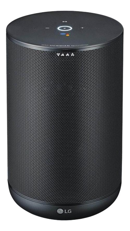 LG WK7 Smart Speaker Black