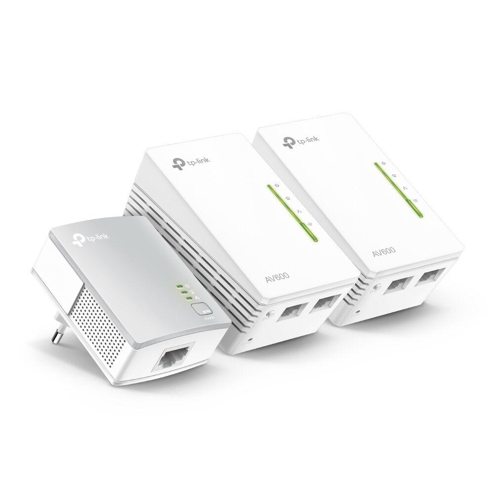 TP-Link AV600 Powerline Wi-Fi 3-pack KIT