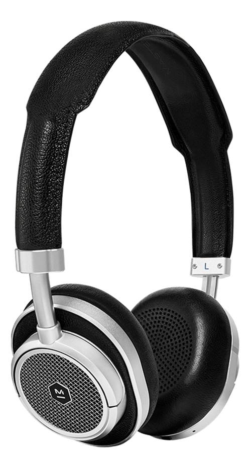 Master & Dynamic MW50+ Wireless On/Over Ear-Black/Silver