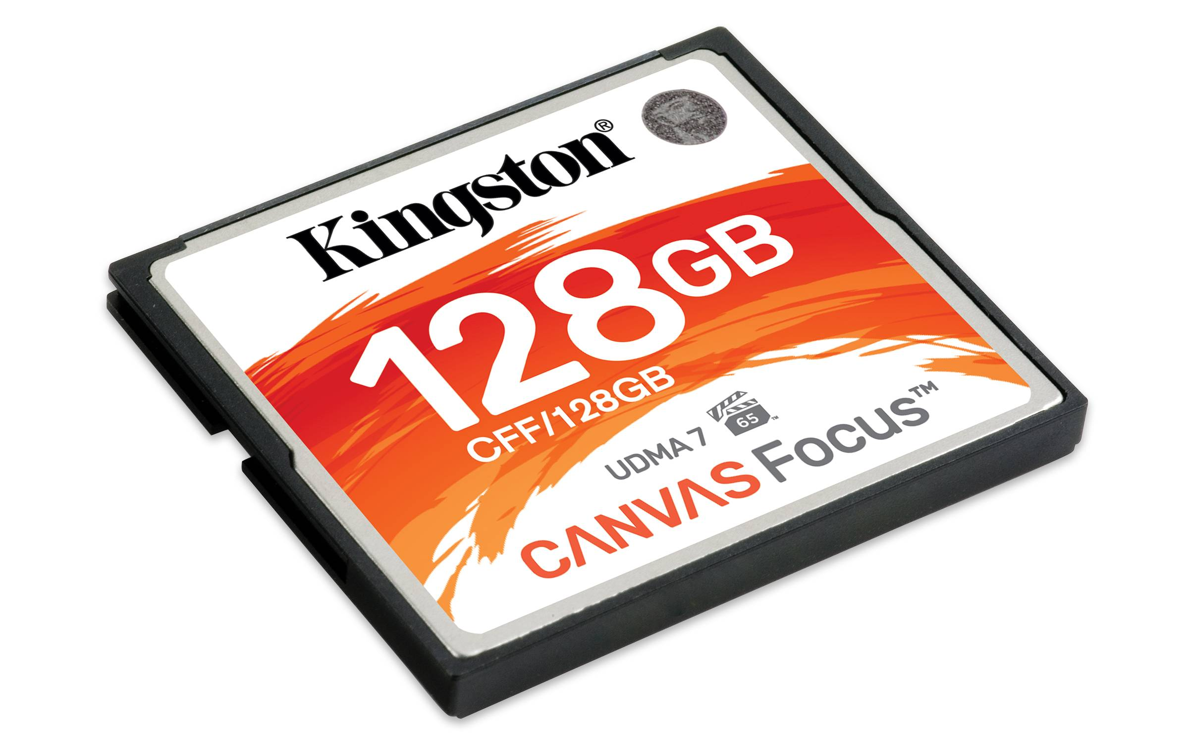 Kingston 128GB CompactFlash Canvas Focus Up To 150R/130W UDMA7 VPG-65