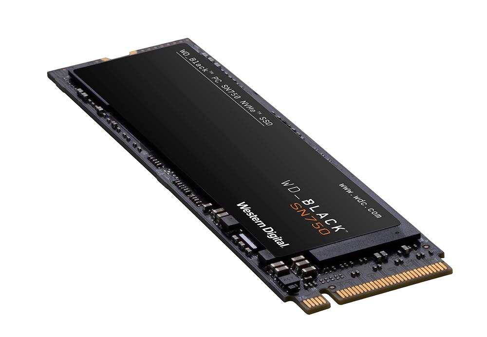 Western Digital WD Black SSD SN750 Gaming NVMe 1TB M.2