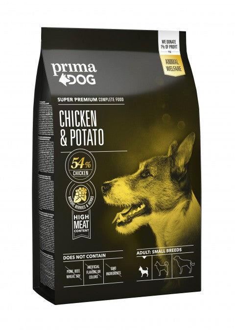 PrimaDog kana-peruna pienelle koiralle 4 kg