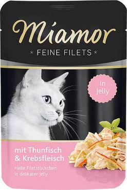 Miamor Feine Filets Jelly tonnikala & rapu 24 x 100 g
