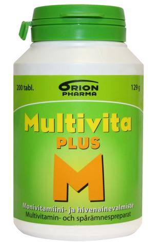 Image of Orion Multivita Plus 30 tablettia