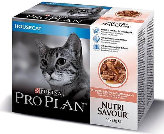 Purina Pro Plan Housecat Salmon Multipack 10 x 85 g