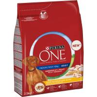Purina ONE Medium/Maxi Adult kana ja riisi 10 kg