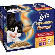 Latz Sensations Sauces Herkkulajitelma kastikkeessa 12 x 100 g