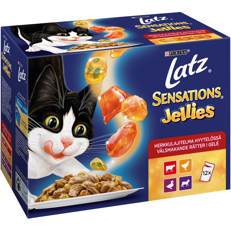 Latz Sensations Jellies Herkkulajitelma hyytelössä 12 x 100 g