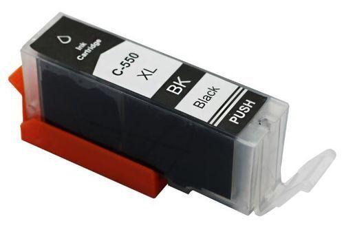 Canon PGI-550BKXL korvaava 25ml Black värikasetti. Siru valmiina. Takuu 1v.