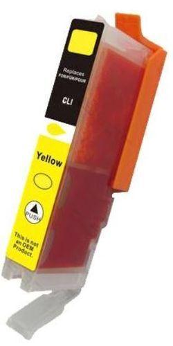 Canon CLI-551XL Yellow 6446B001 värikasetti. Laatusertifioitu! Siru valmiina. Takuu 1v.