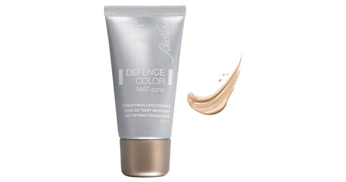 BIONIKE Defence Color Mat-Zone Foundation SPF15 No.401 Ivoire 30ml