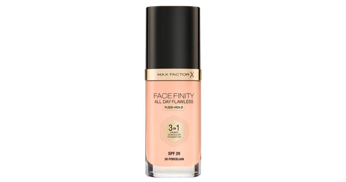 MAX FACTOR Facefinity 3in1 Foundation SPF20 No.30 Porcelain 30ml