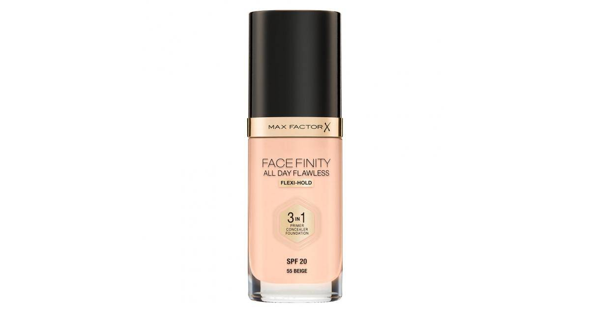 Max Factor Facefinity 3in1 Foundation SPF20 No.55 Beige 30ml
