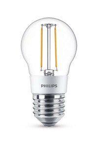 E27 Philips Filament E27 LED-lamput 3W (25W) (Kiilto, Kirkas, Himmennettävä)