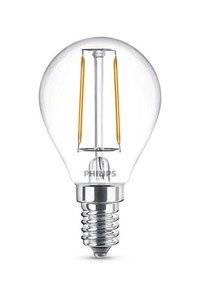 E14 Philips Filament E14 LED-lamput 2W (25W) (Kiilto, Kirkas)