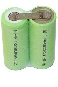 Oral-B 2x 4/5 A akut sarjassa, with solder tabs (2400 mAh, Uudelleenladattava)