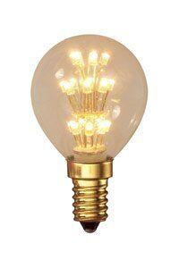 E14 Calex E14 LED-lamput 1W (10W) (Kiilto, Kirkas)
