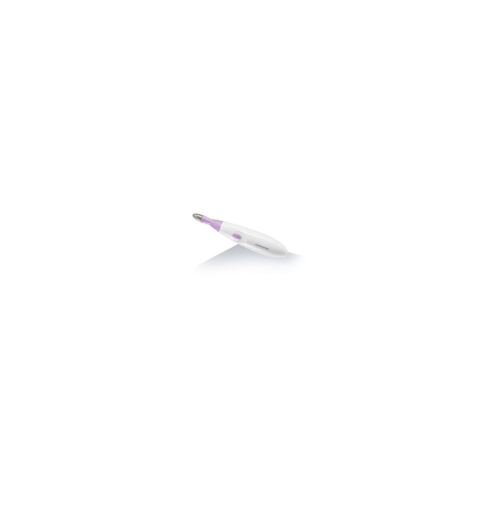 Grundig MA 5820 Toenail cleaner Vaaleanpunainen, Valkoinen Ruostumaton teräs