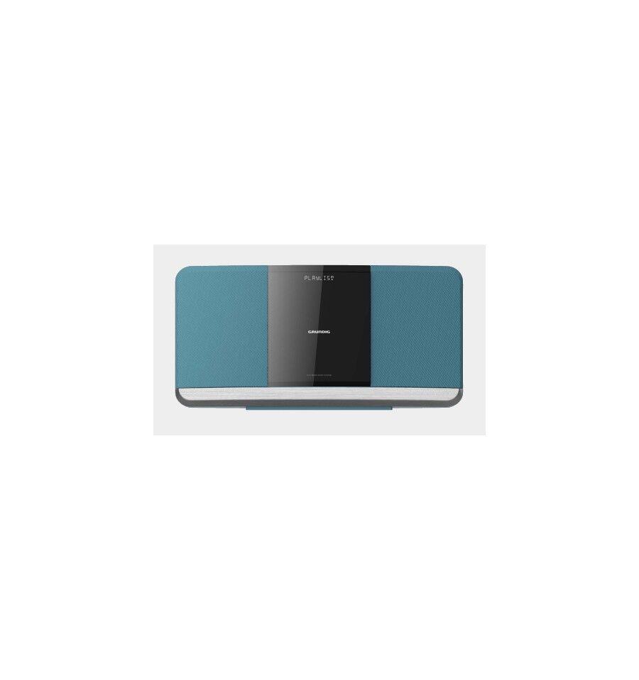 Grundig WMS 3000 BT DAB Kodin mikroaudiojärjestelmä Sininen 20 W