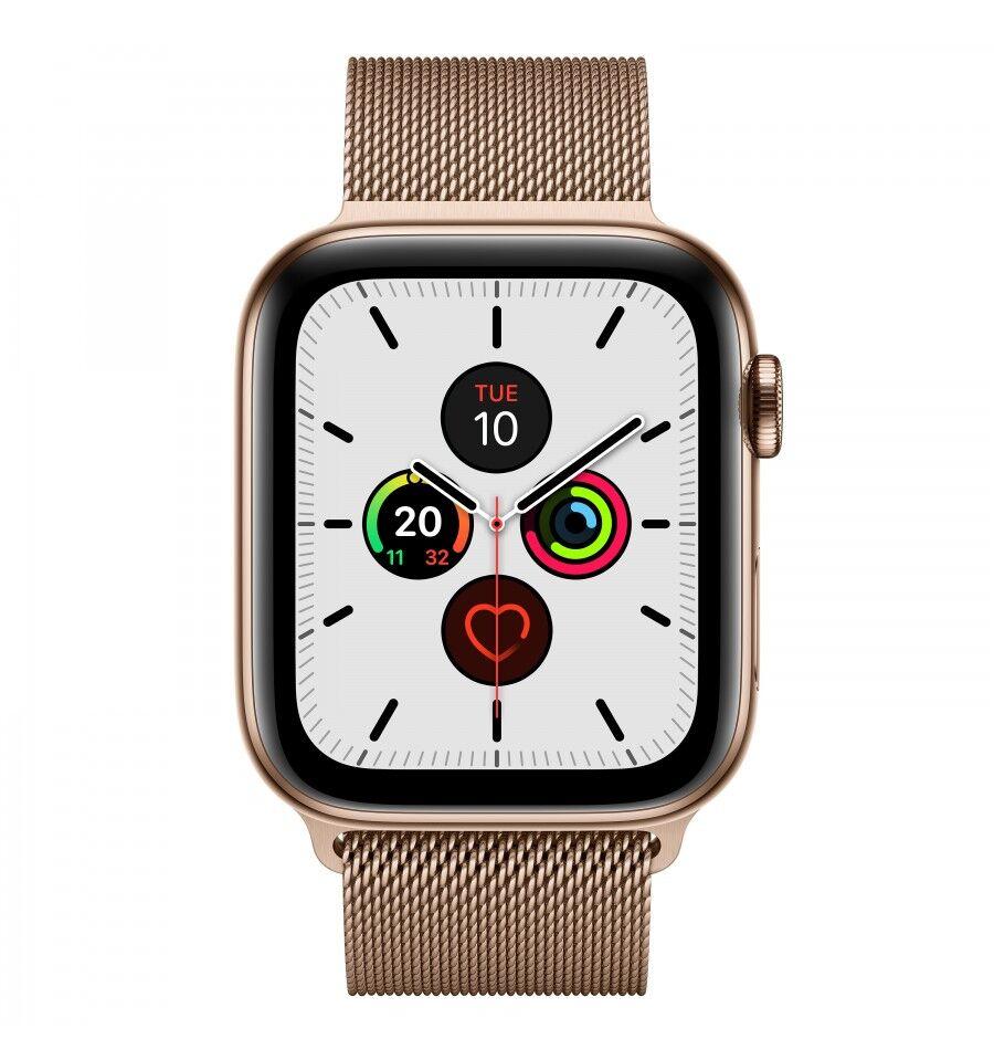 Apple Watch Series 5 älykello Kulta OLED Solu GPS (satelliitti)