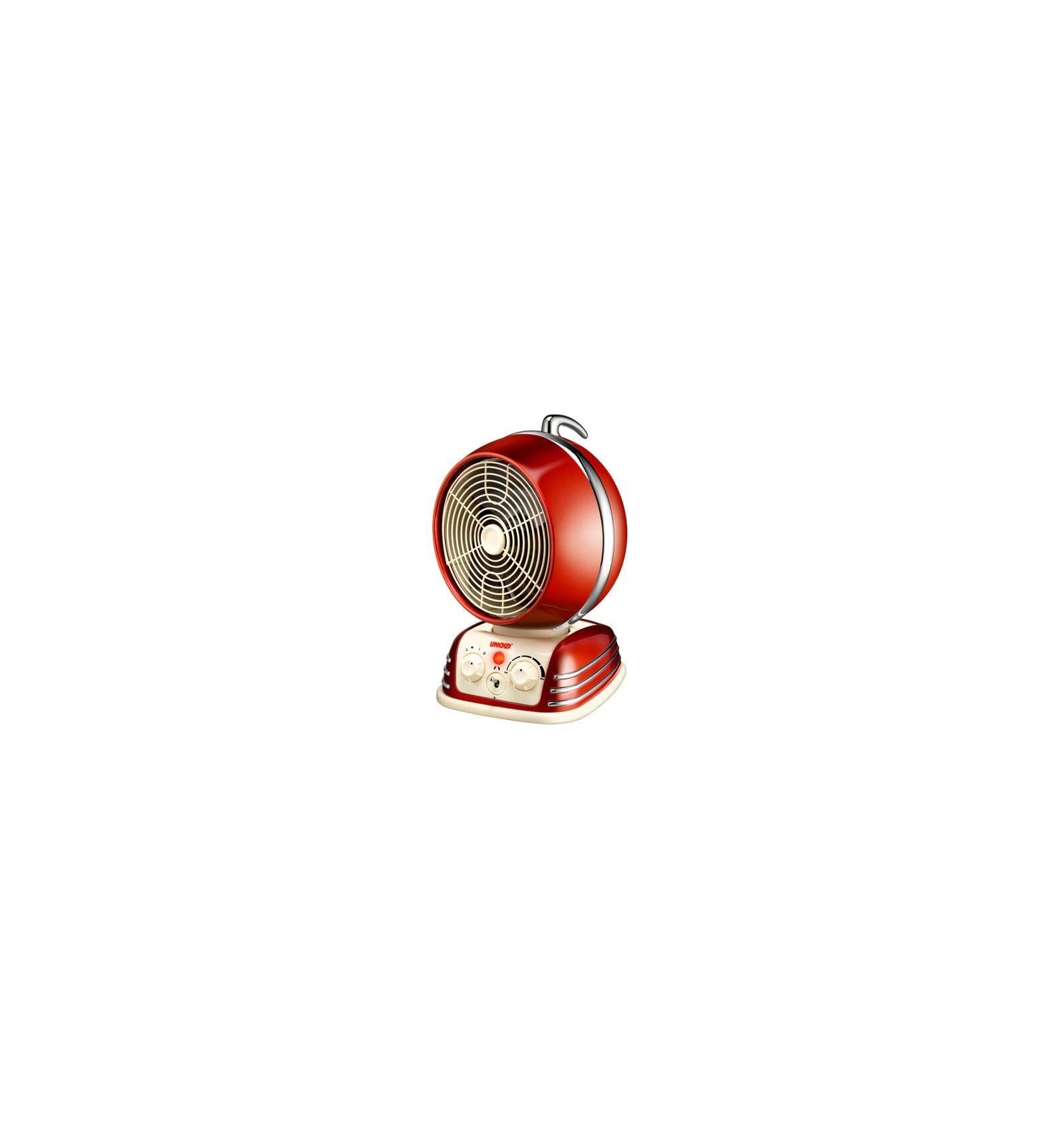 Unold 86203 sisälämmitin Sähkölämmitin Punainen 2000 W