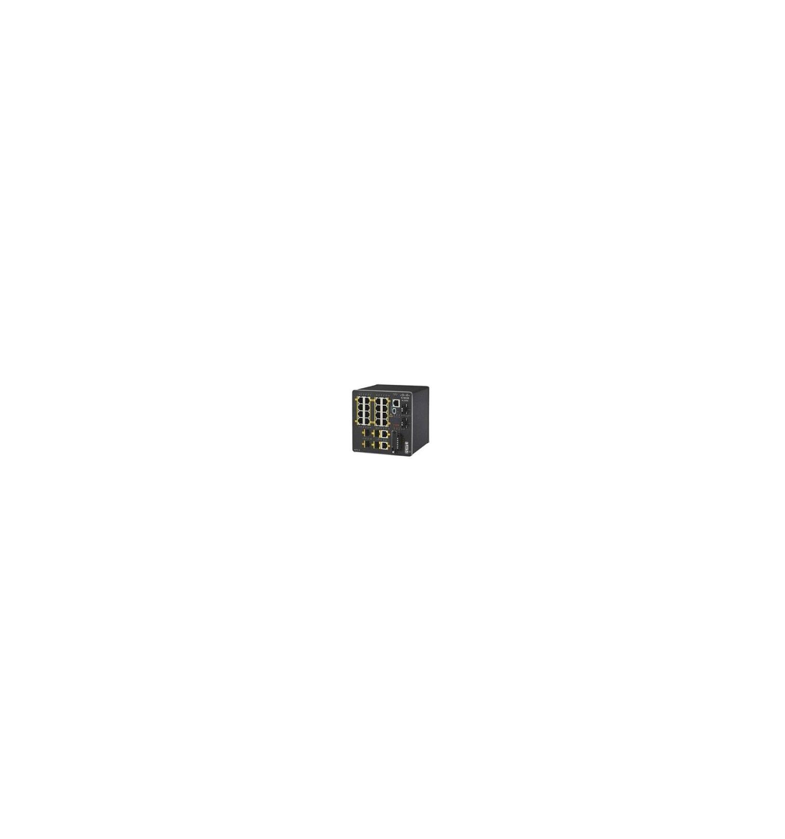 Cisco Systems IE-2000-16TC-G-L Managed network switch L2+ Fast Ethernet (10/100) Musta verkkokytkin