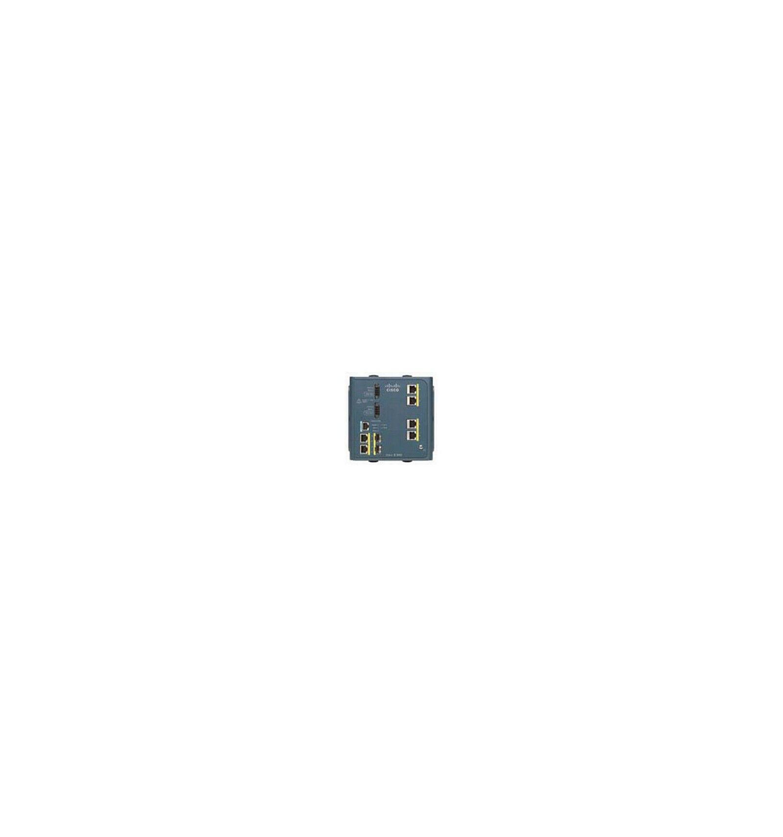 Cisco Systems IE-3000-4TC Managed network switch L2 Fast Ethernet (10/100) Sininen verkkokytkin