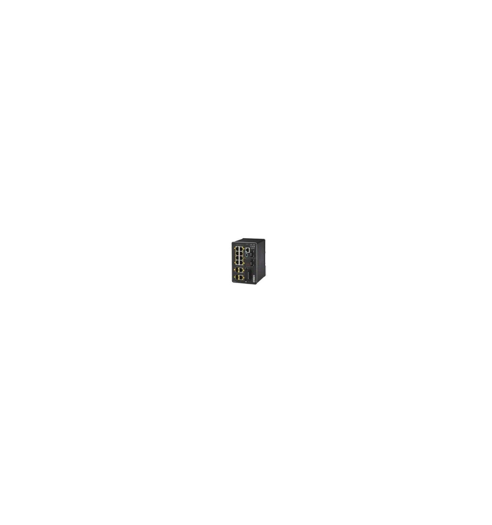 Cisco Systems IE-2000-8TC-L Managed network switch L2 Fast Ethernet (10/100) Musta verkkokytkin