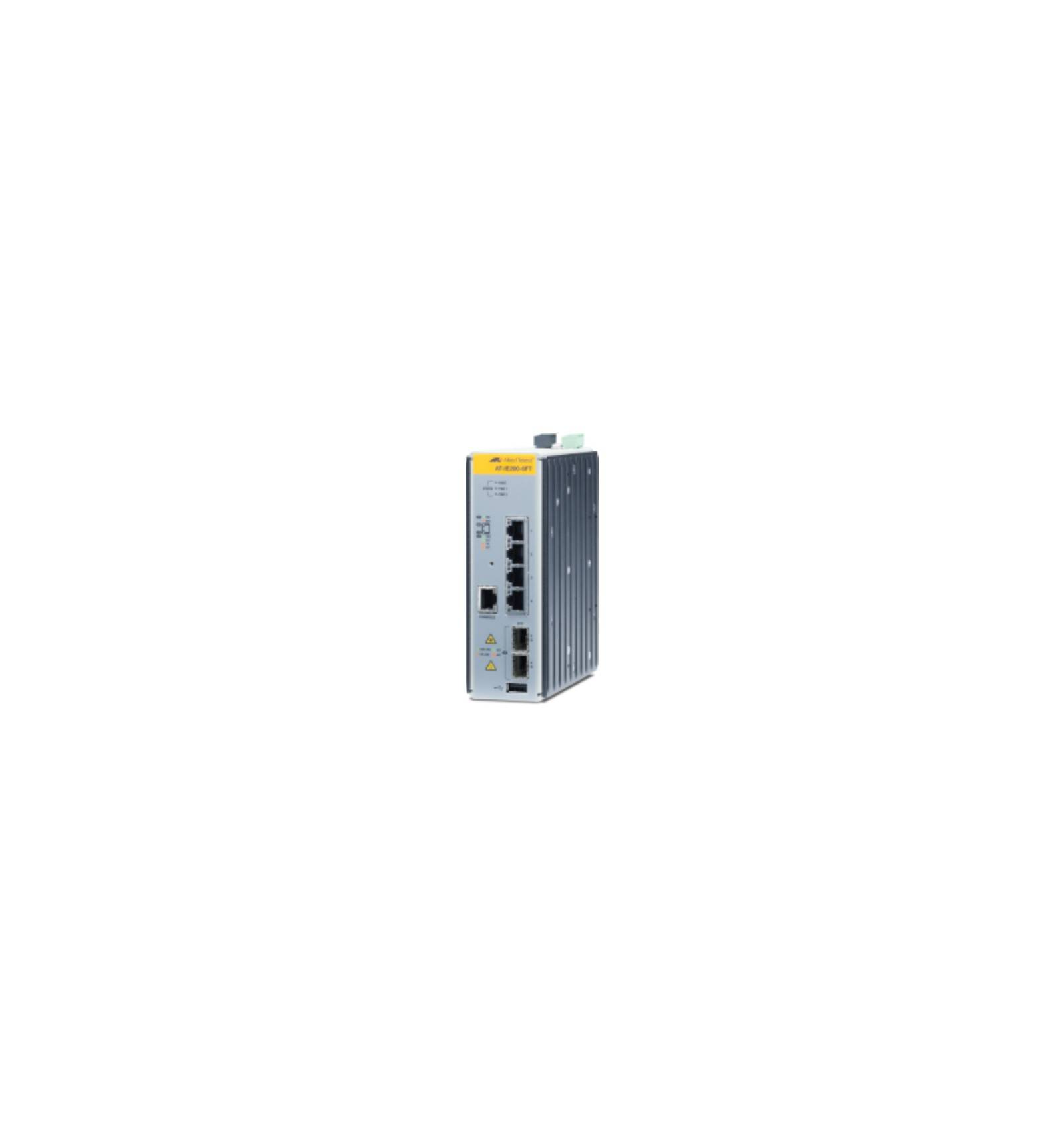 Allied Telesis AT-IE200-6FT-80 Managed network switch L2 Fast Ethernet (10/100) Harmaa