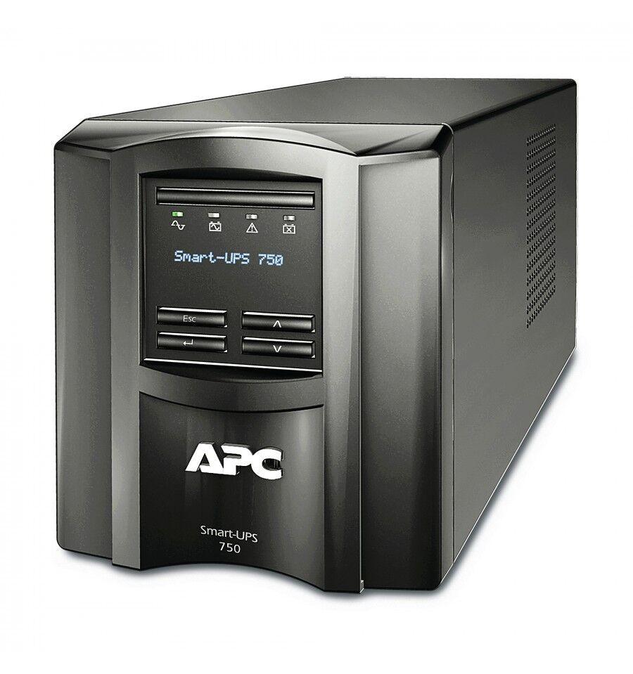 APC by Schneider Electric SMT750IC 750VA Uninterruptible Power Supply - Black UPS-virtalähde Linjainteraktiivinen 500 W 6 AC-pis