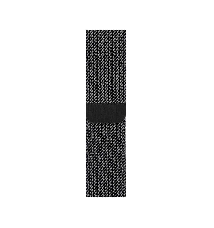 Apple MTU12ZM/A Yhtye Musta Ruostumaton teräs älykellon varuste
