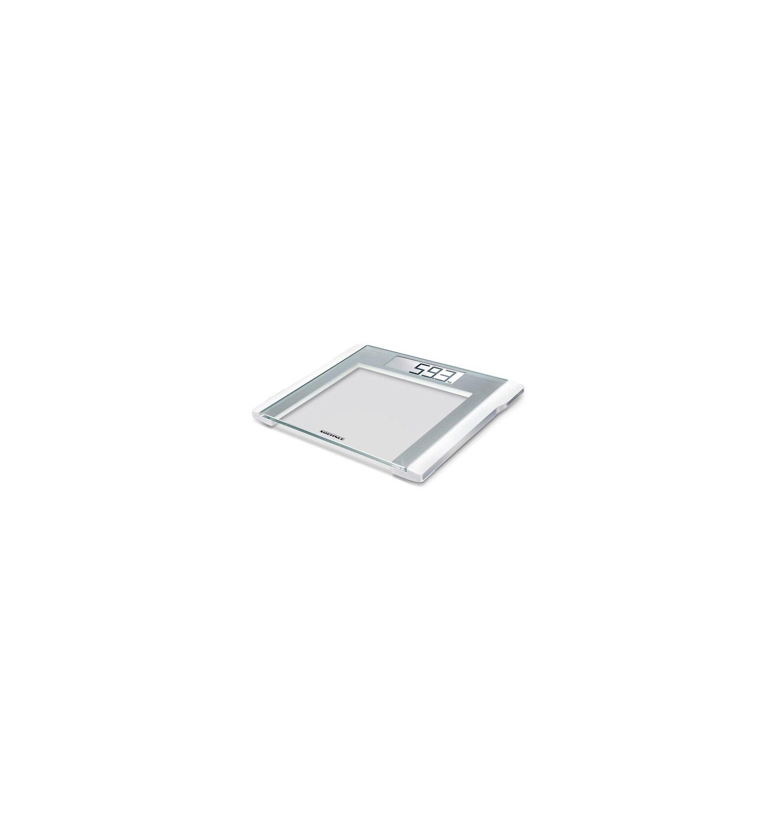 Soehnle Comfort 200 Sähkökäyttöinen henkilövaaka Neliö Hopea, Valkoinen